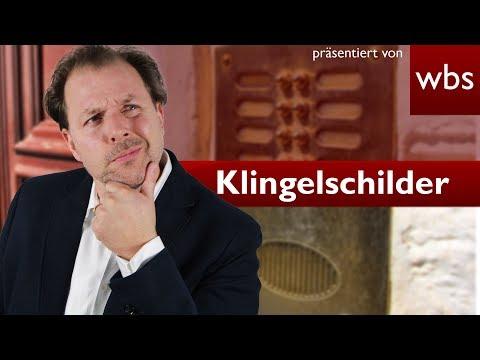 DSGVO-Wahnsinn #3: Sind Namen auf Klingelschildern verboten? | Rechtsanwalt Christian Solmecke