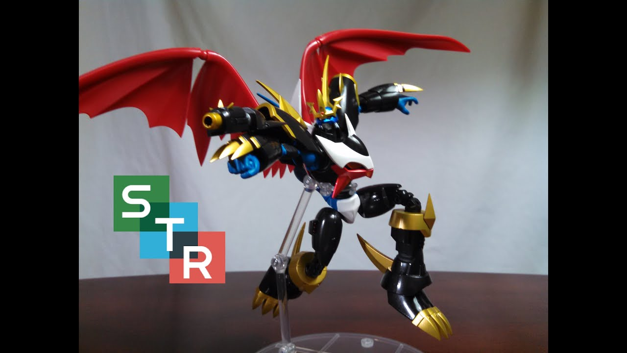S.H. Figuarts Imperialdramon Review - YouTube