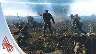 Verdun Gameplay - Bayonet Charge!