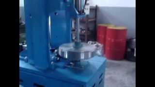 Stainless steel Tank Head Joggle Joint Machine