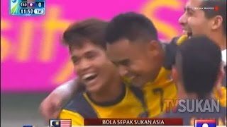 Sukan Asia 2014: Malaysia vs Laos (4-0) 17 Sept