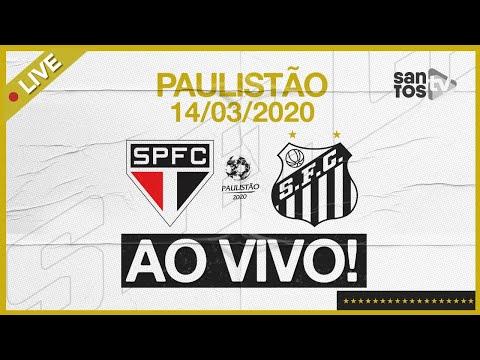 AO VIVO: SÃO PAULO 2 X 1 SANTOS | NARRAÇÃO | PAULISTÃO (14/03/20)