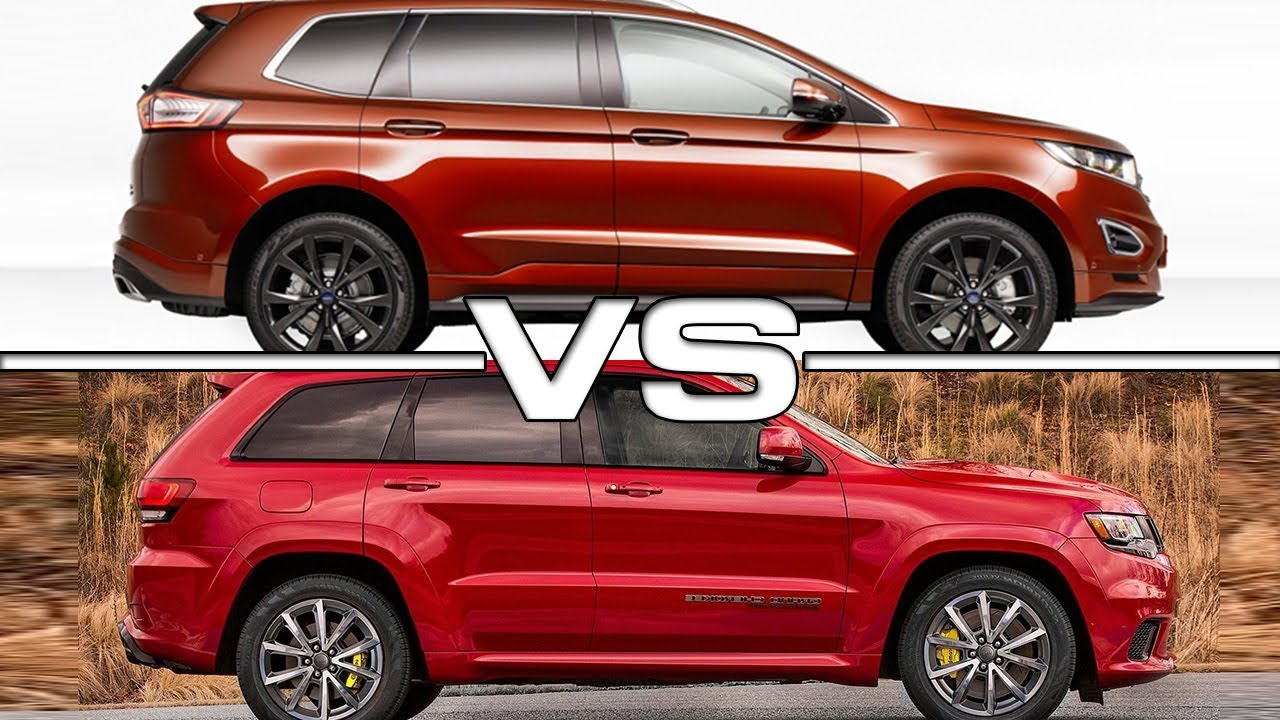 ford edge   jeep grand cherokee youtube