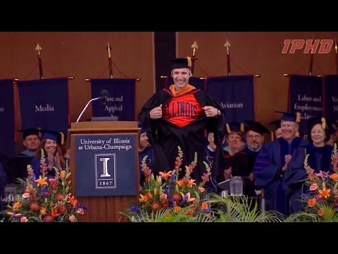 Mike Hopkins University of Illinois Commencement Address 5/17/14 ...