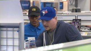 Stroman Pranks Toronto Fans