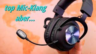 Blue Icepop   Mikrofon Upgrade fürs Logitech G Pro X - gibt's auch extra fürs Astro A40 ;)