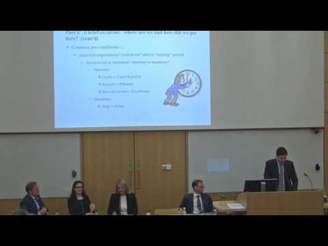 Cambridge Arbitration Day 2017: Panel 2: Defending Investment Arbitration: A Lost Battle?
