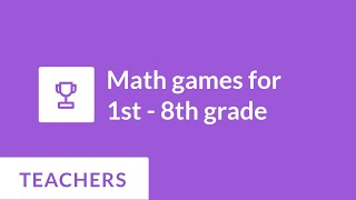 Math Games for 1st - 8th Grade | Prodigy Game