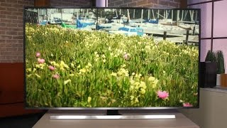 Samsung UNJU7100: Cutting-edge flat 4K TV with a very good picture