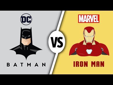 Iron Man или Batman. Кто круче? Самые популярные персонажи комиксов. MARVEL против DC 13+