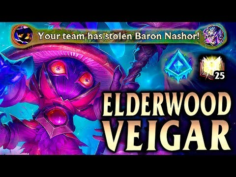 ELDERWOOD VEIGAR! How to Take Over the Game as Veigar! - League of Legends S9
