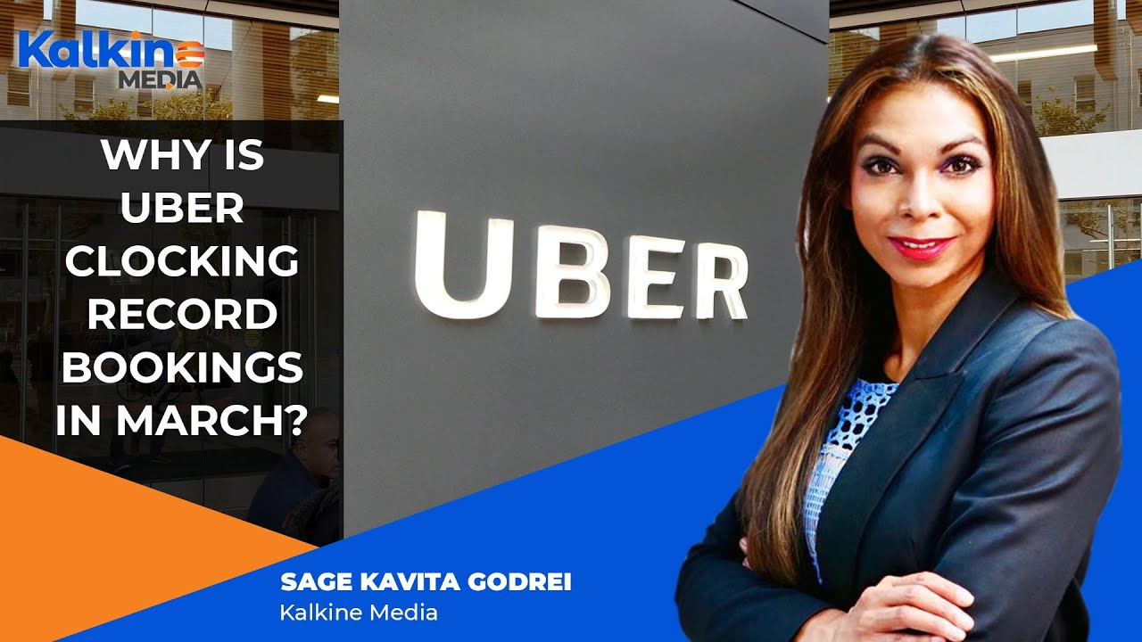 Why is Uber clocking record bookings in March?