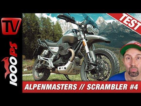 Moto Guzzi V85 TT Test - Alpenmasters Vergleich - Scrambler 4/4