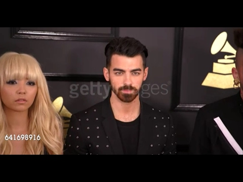 DNCE at 59th Annual Grammy Awards at Staples Center in L.A.