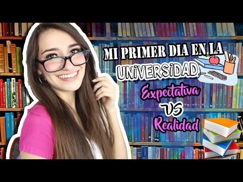 MI PRIMER DÍA EN LA UNIVERSIDAD | Expectativa VS Realidad.