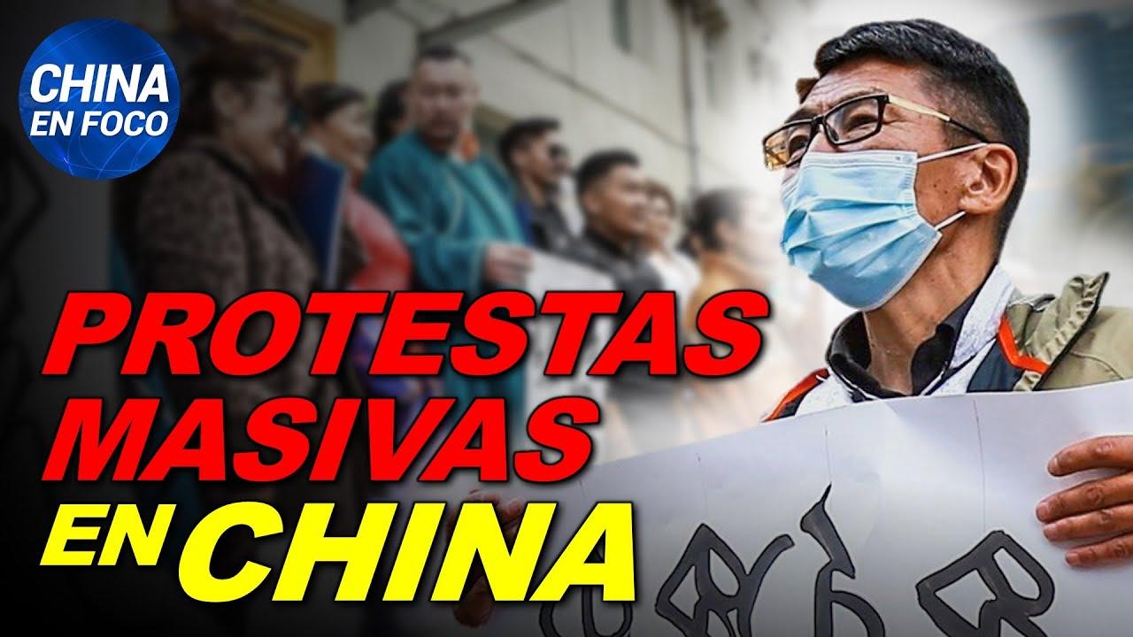 Se desatan protestas masivas en China. Plaga de langostas nunca antes vista | China en Foco