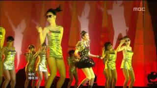 Son Dam-bi - Saturday Night, 손담비 - 토요일 밤에, Music Core 20090425