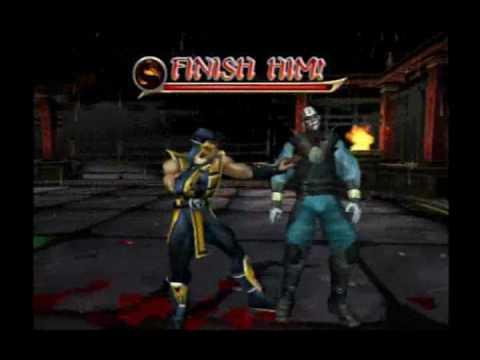 Mortal Kombat Armageddon Ps2 Fatalities MK: Armageddon - Scorp...