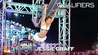 Jessie Graff at the Miami City Qualifiers - American Ninja Warrior 2018