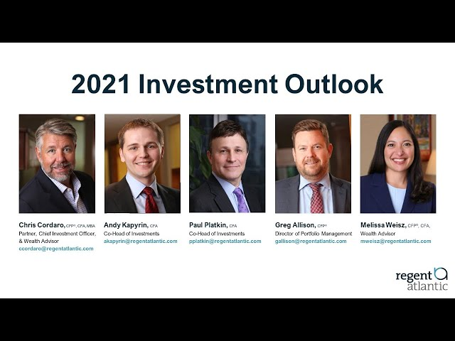 2021 RegentAtlantic Investment Outlook