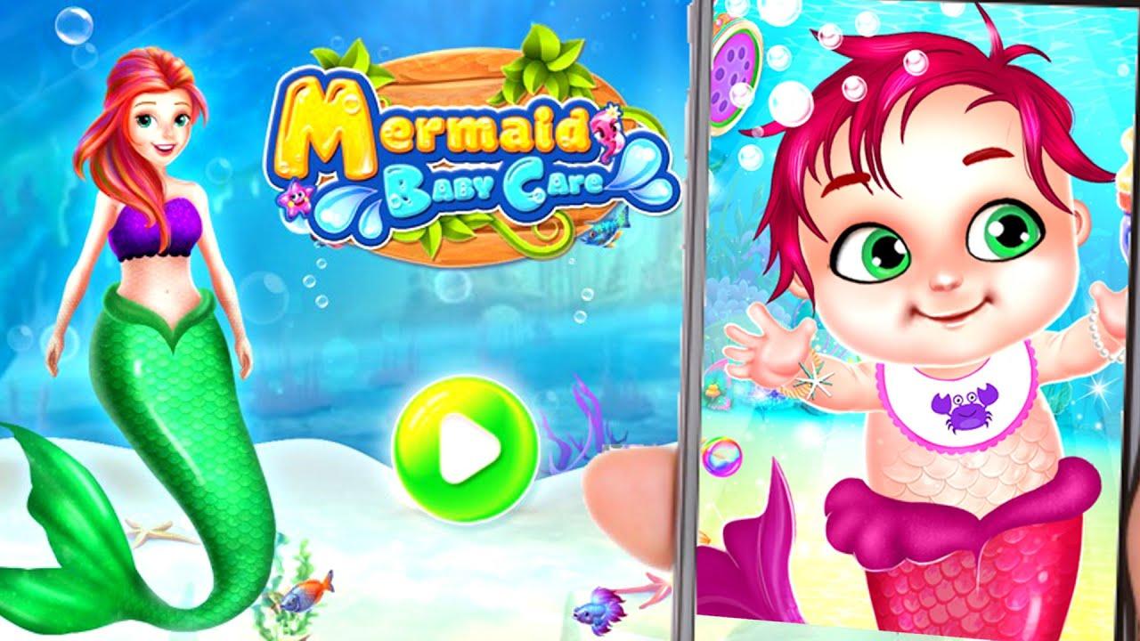 MERMAID BABY CARE OCEAN WORLD 🧜🏻♀️ GRA 🌊 CrazyMonia