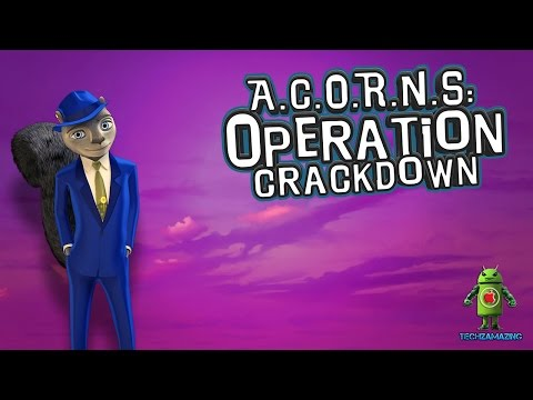 A.C.O.R.N.S. OPERATION CRACKDOWN iOS / Android Gameplay Trailer HD