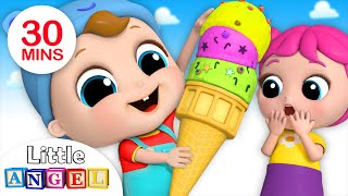 Download Who Wants Ice Cream? | Ice Cream Song | Nursery Rhymes by Little Angel Mp3 and Videos