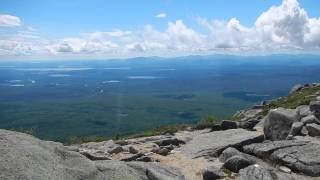 View of the high peaks, lakes, and ponds from Mount Katahdin - 7/30/13