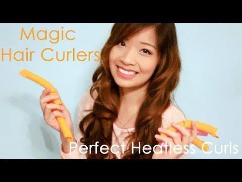 Magic Hair Curlers – Perfekte Locken ohne Hitze Demo & Erster Eindruck Video