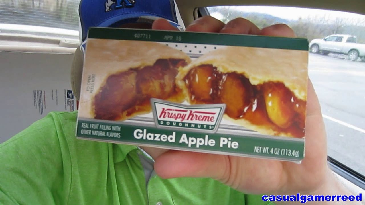 krispy kreme apple pie