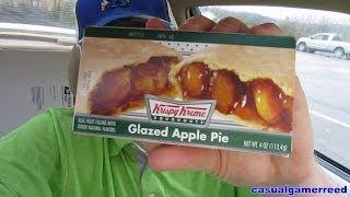 Reed Reviews - Krispy Kreme Glazed Apple Pie