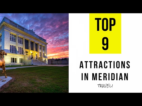 Top 9. Best Tourist Attractions in Meridian - Mississippi
