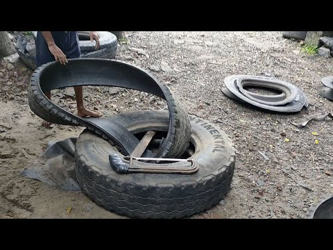 Waste tyre recycling solution suitable for small and medium business Tyre Recycling and processing