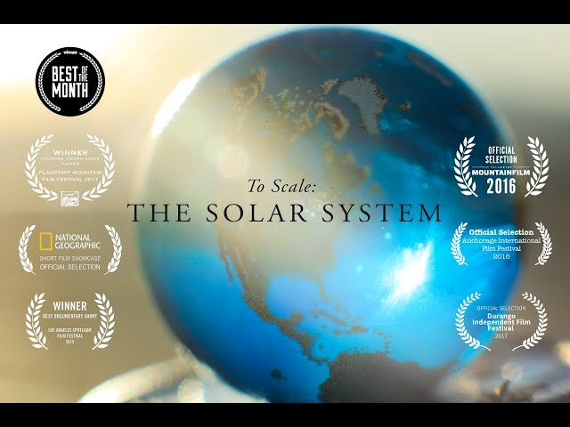 Scale model of Solar System shows Earth's place in the