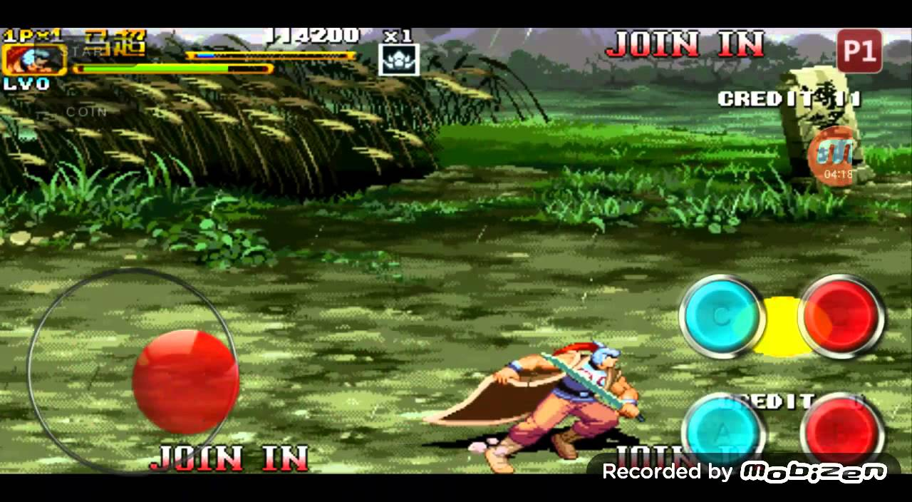 Android Super Arcade Emulator Knights Of Valour 2 Game Play