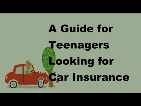 2017 Vehicle Insurance Facts  | A Guide for Teenagers Looking for Car Insurance
