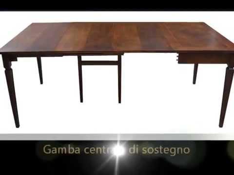 Tavoli Allungabili In Legno Arte Povera.Tavoli Artigianali Allungabili Classici In Stile Arte Povera
