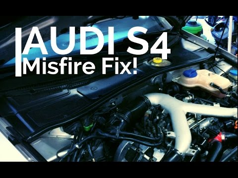 How To Fix Cylinder Misfiring | 2001 Audi S4 | 2.7t