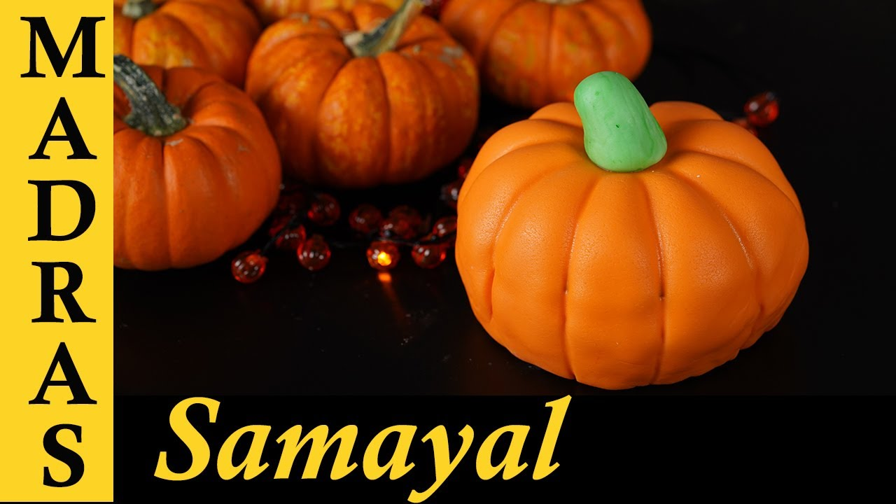 Download Pumpkin Cake Recipe in Tamil | Fun Cake Decorating in Tamil | Poosanikai Cake