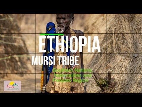 Ethiopia, Mursi tribe.