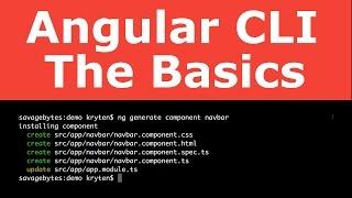angular cli the basics angular 2 4