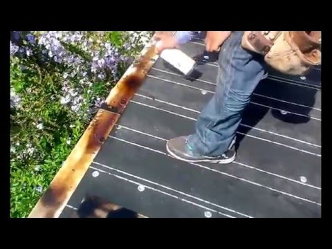 Roll roofing installation, Flat roof installation step by step ,must watch!