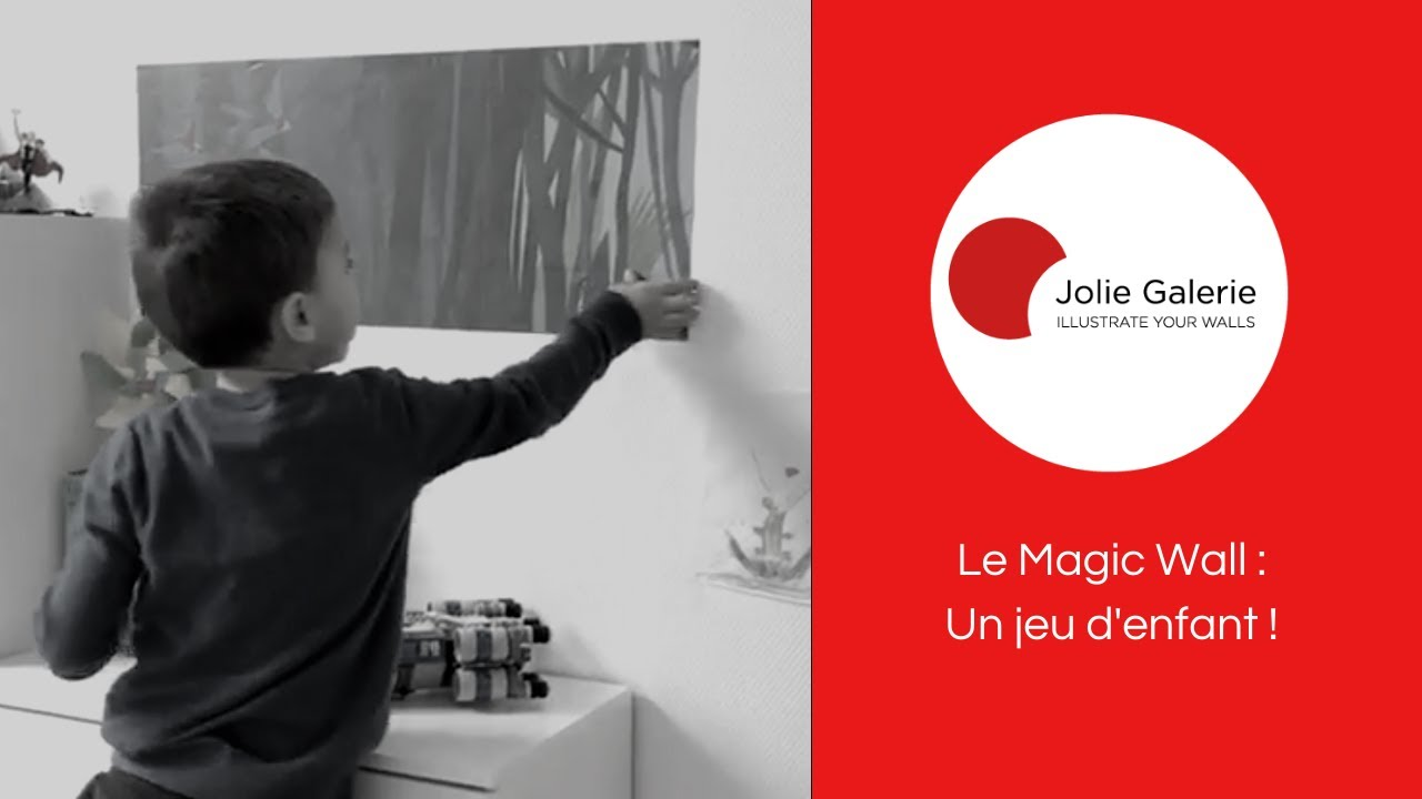 Le Magic Wall | Décoration Murale Amovible | Jolie Galerie