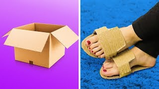 22 WEIRD CARDBOARD HACKS YOU HAVE TO TRY