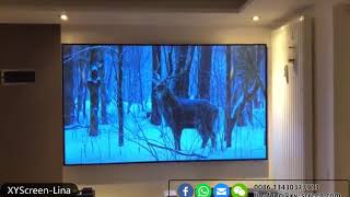 Laser TV Ambient Light Rejecting ALR projector screen ultra short throw projection screen