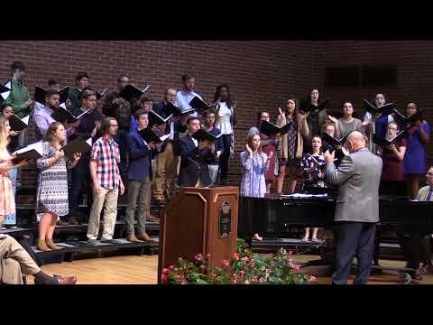 The Presbyterian College Department of Music Choir