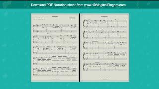 Hawaayein (Jab Harry Met Sajal) Western Piano Staff Notations + Chords
