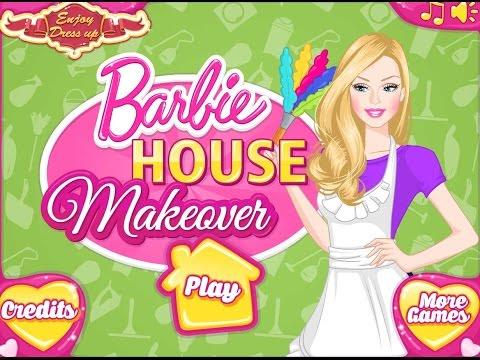 Барби Уборка и планировка в Доме (House Barbie)