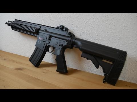 HECKLER & KOCH HK 416 C SOFTAIR REVIEW