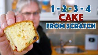 1915 1-2-3-4 Cake Recipe